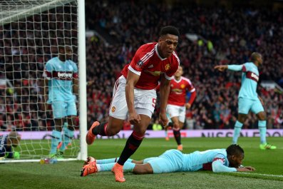 Anthony Martial has impressed in his first season at Manchester United.