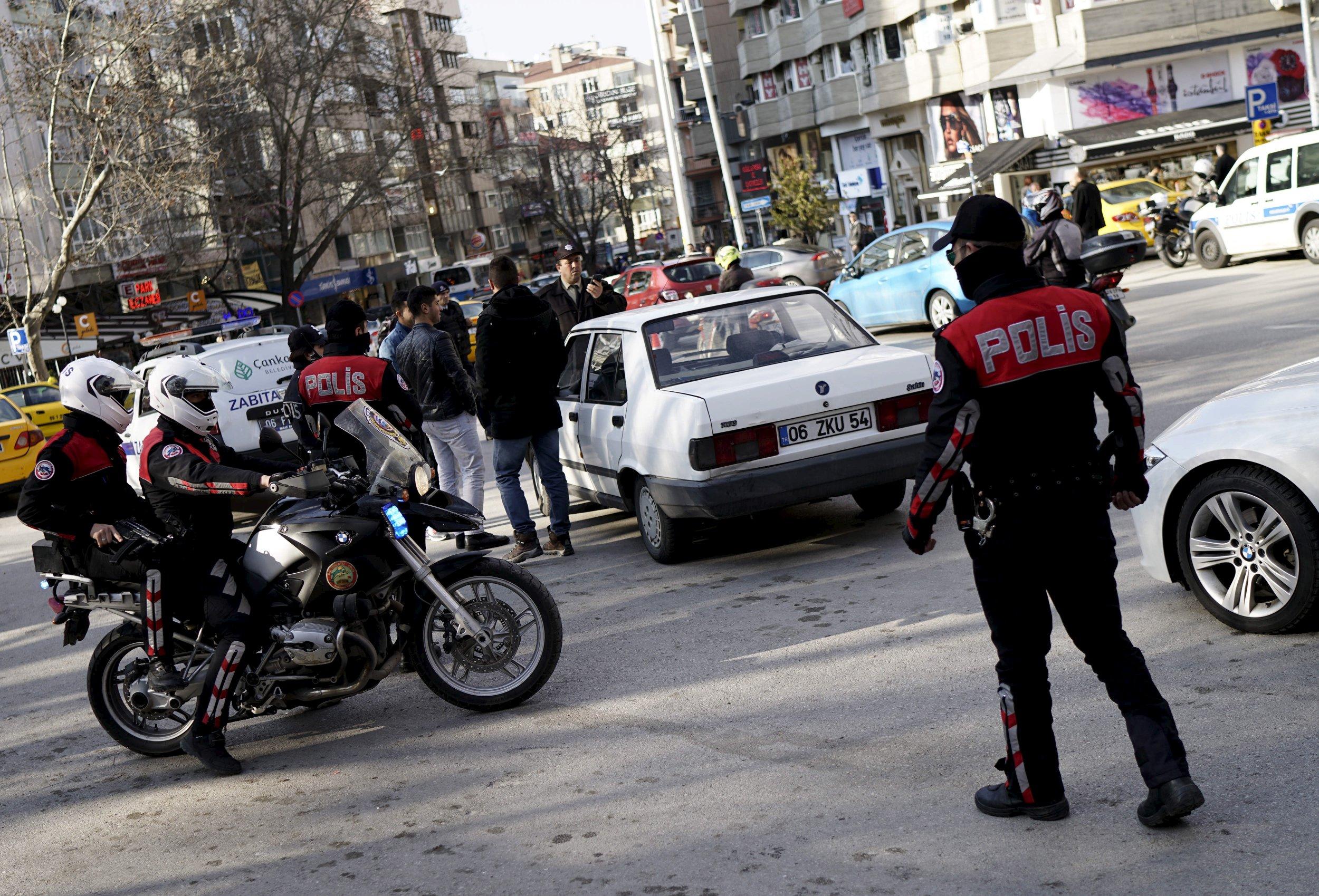 Turkey Middle East PKK Kurds Gunman
