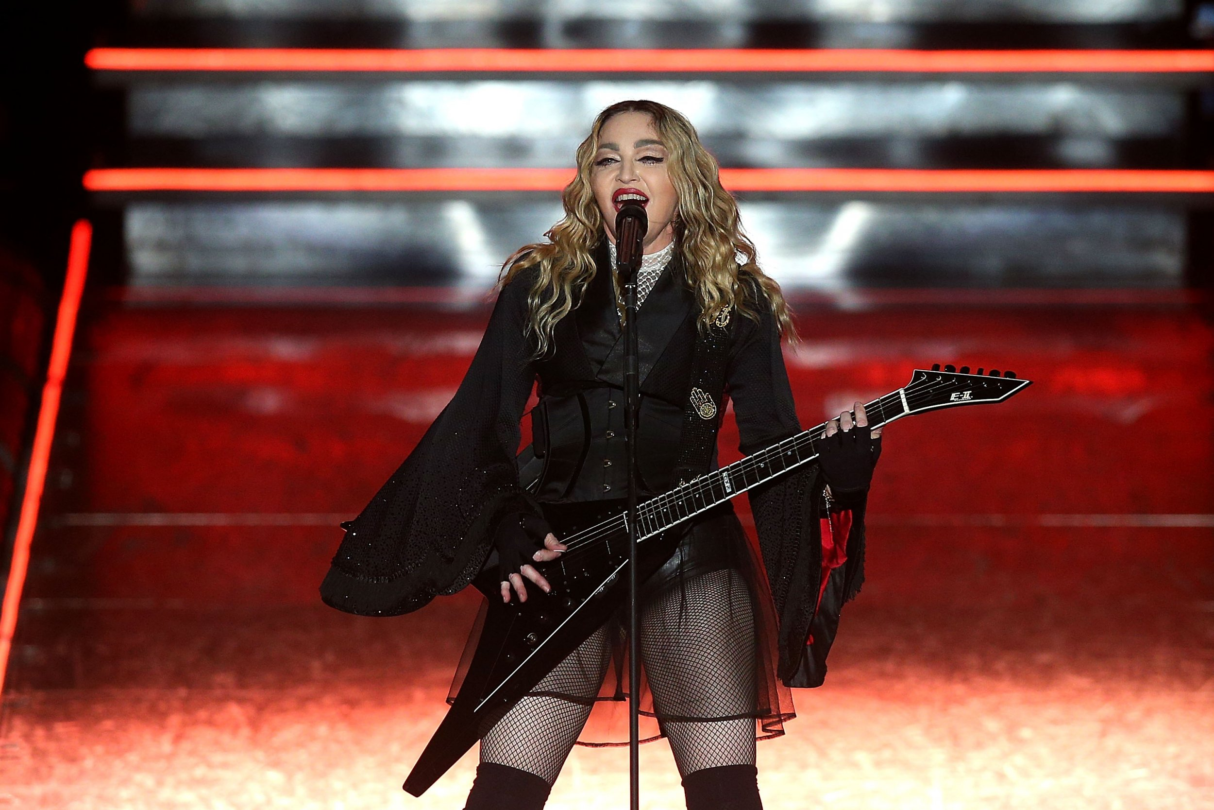 Madonna on tour in Melbourne
