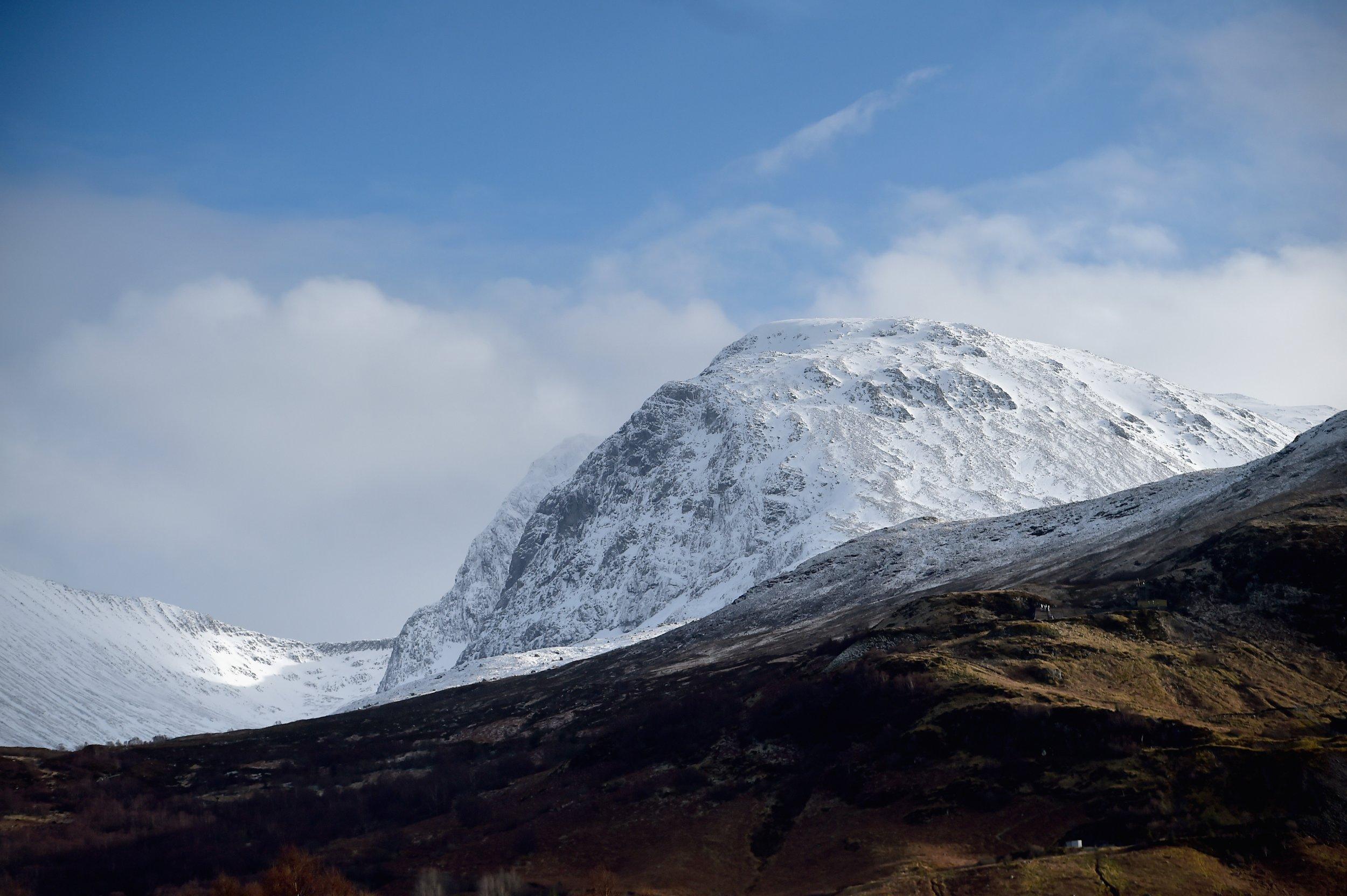 Climbing Couple Missing On Ben Nevis