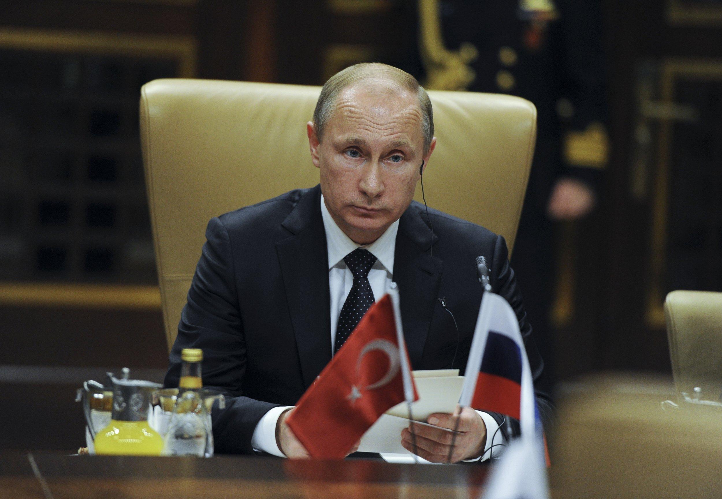 Putin Turkey PKK