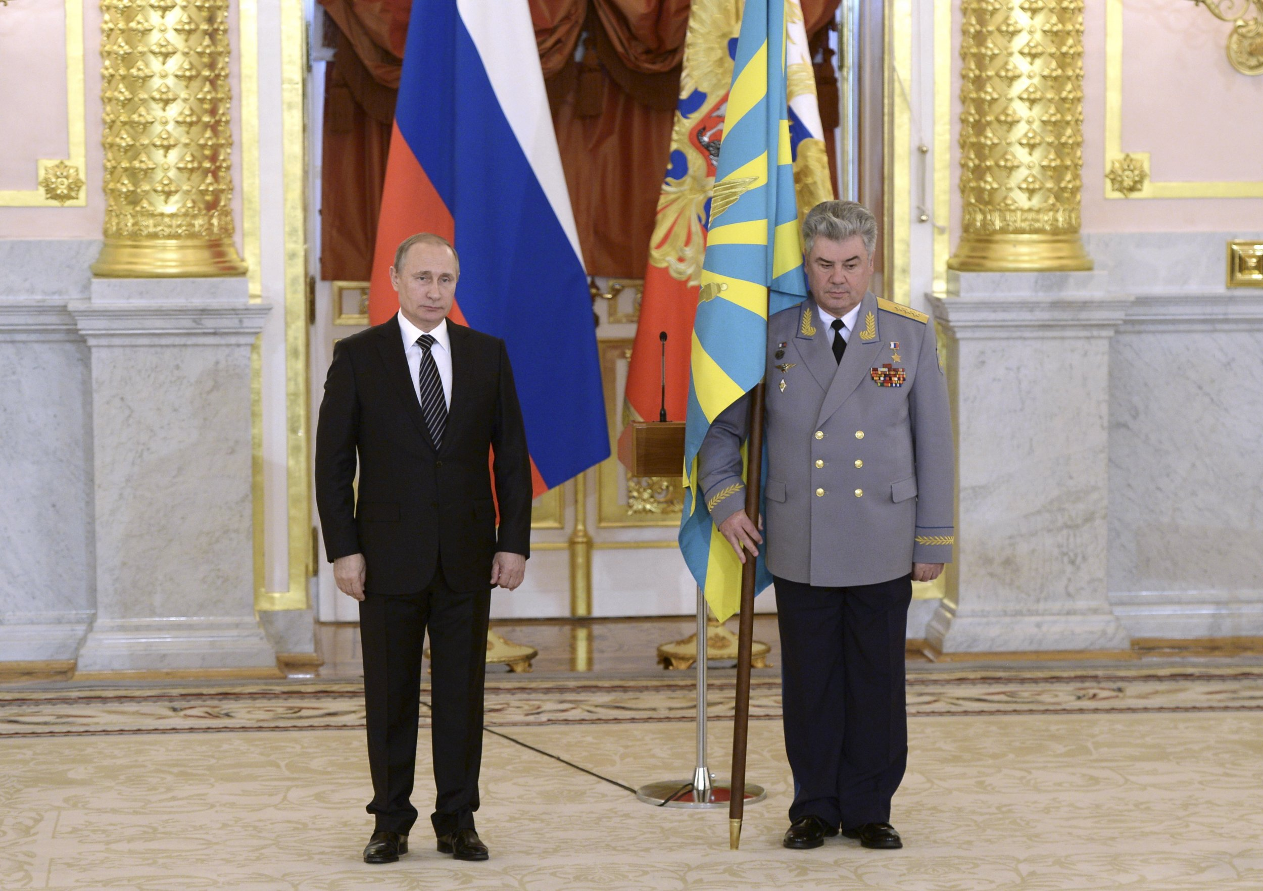 Putin at air force ceremony