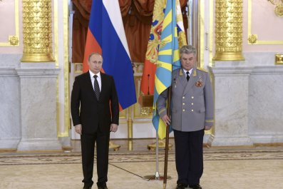 Putin at air force ceremony
