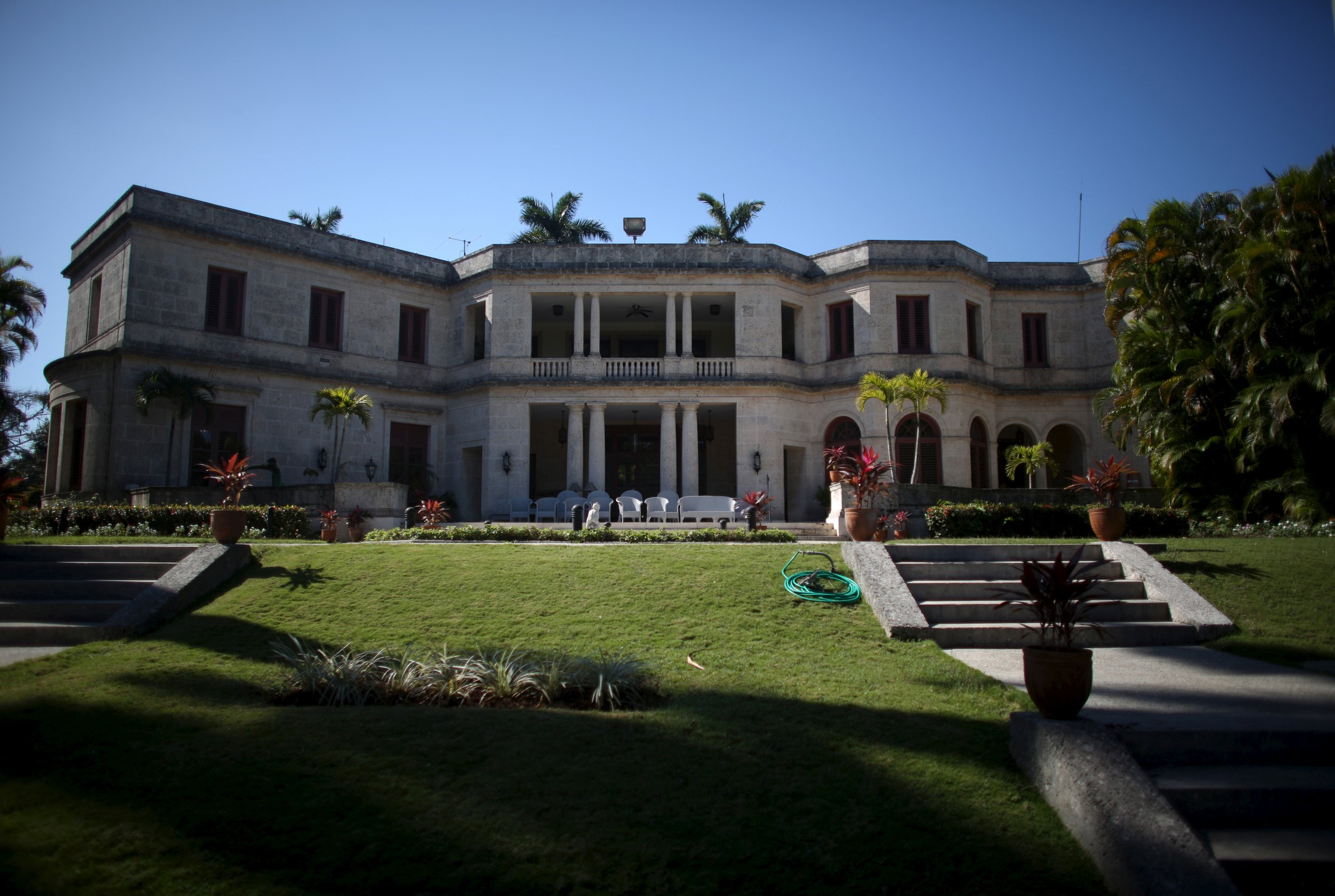 Colonial Homes Why President Obama Will Be Staying In This Mansion In Havana