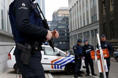 Salah Abdeslam Paris Attacks Brussels Belgium