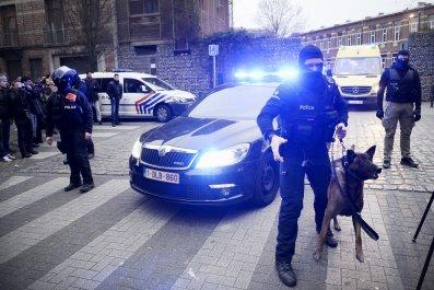 Paris Attacks Brussels Abdeslam Manhunt