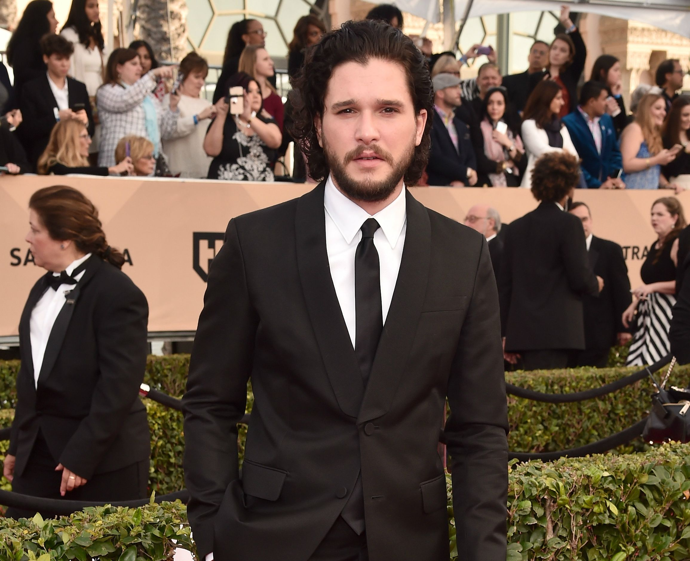Kit Harington at 2016 SAG Awards