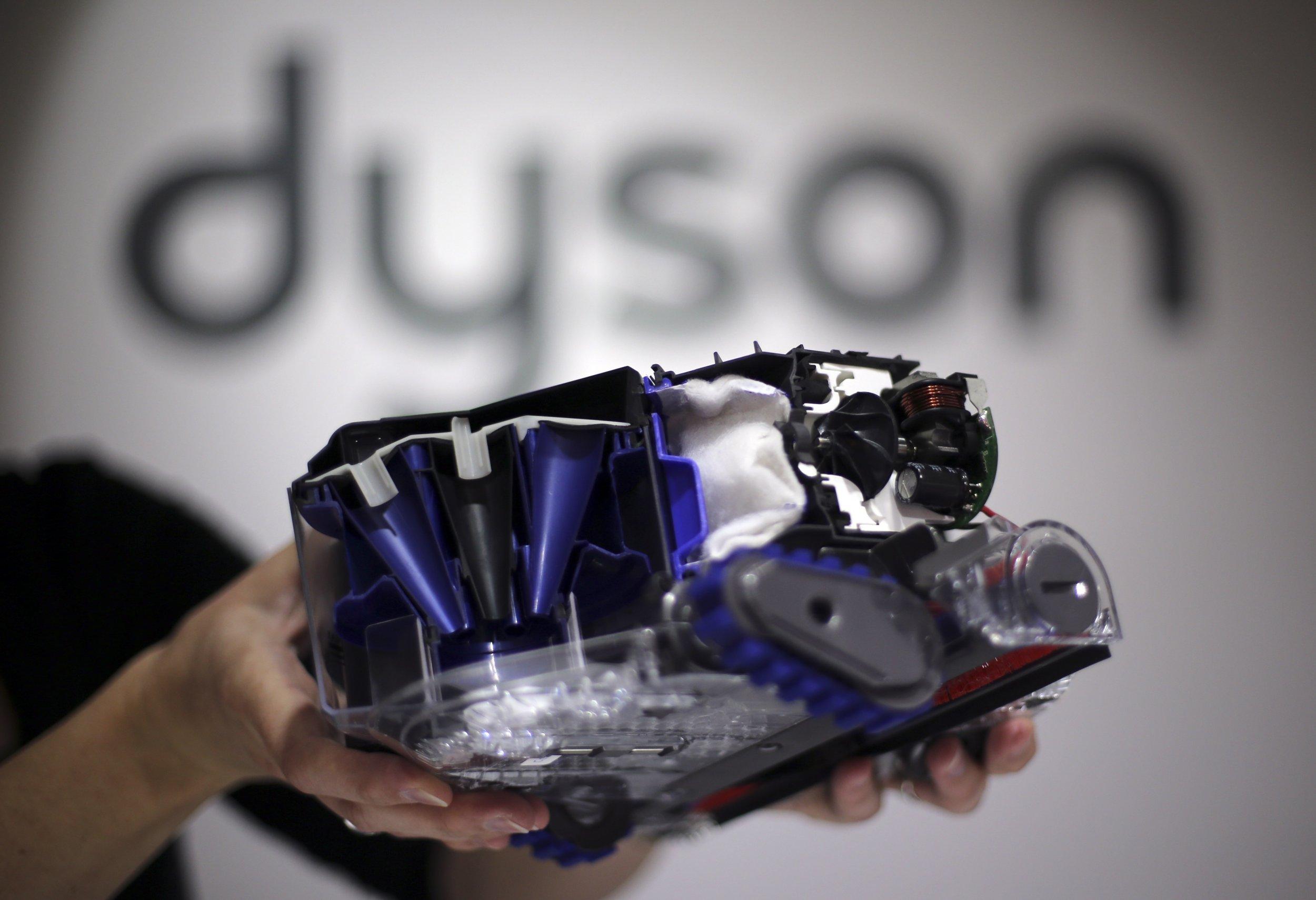 dyson vacuum battery revenue sales