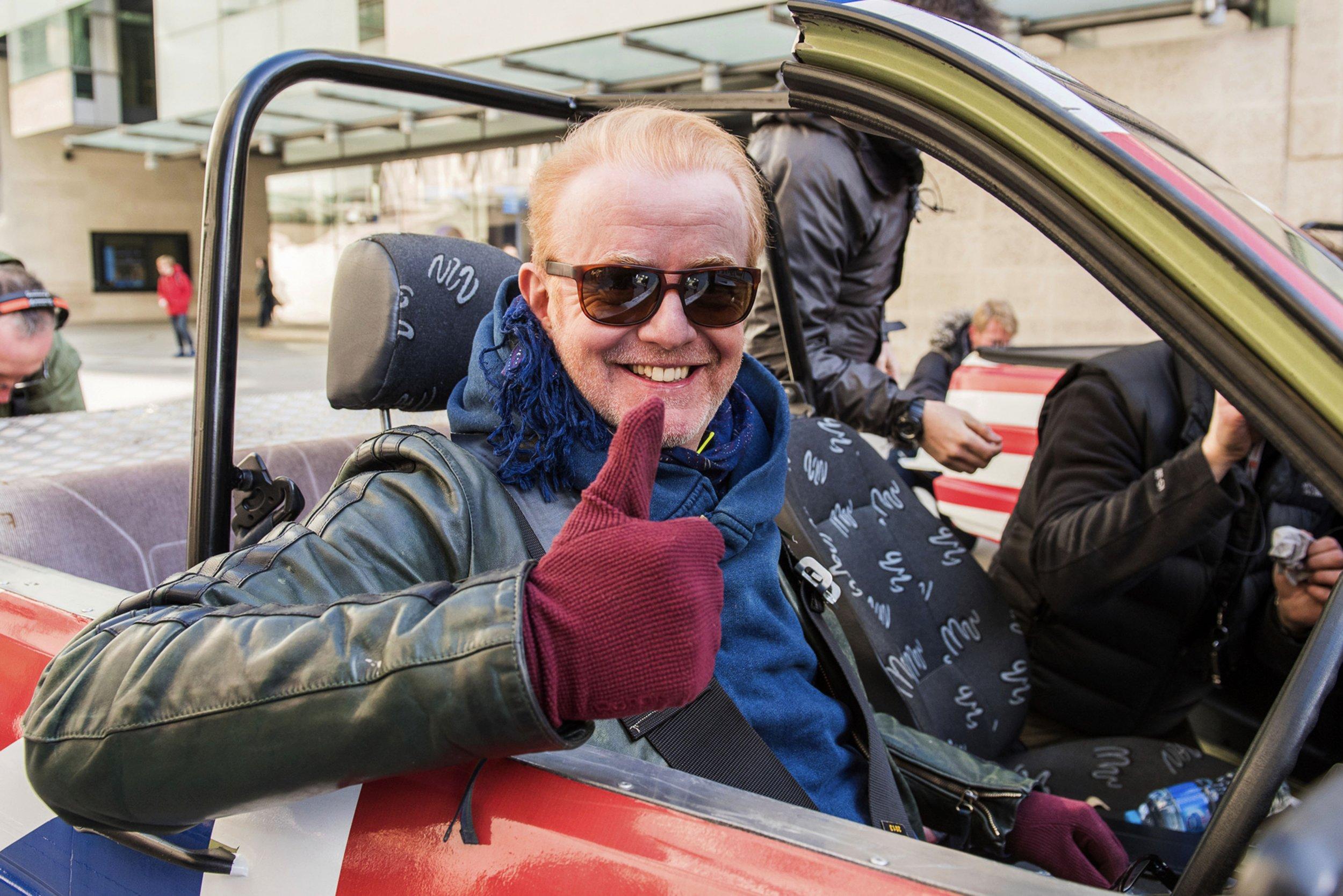BBC Top Gear - Chris Evans