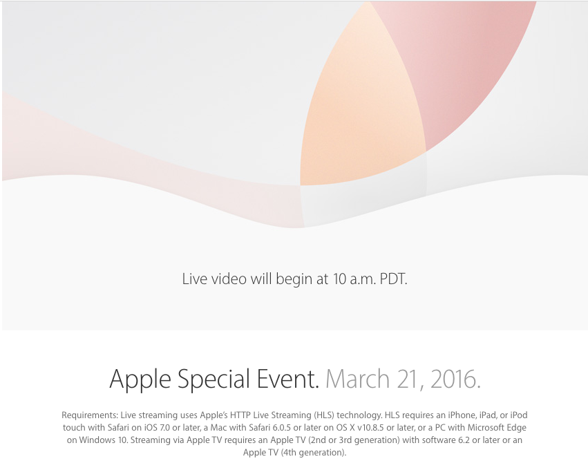 Where to Watch Today's Apple Announcement