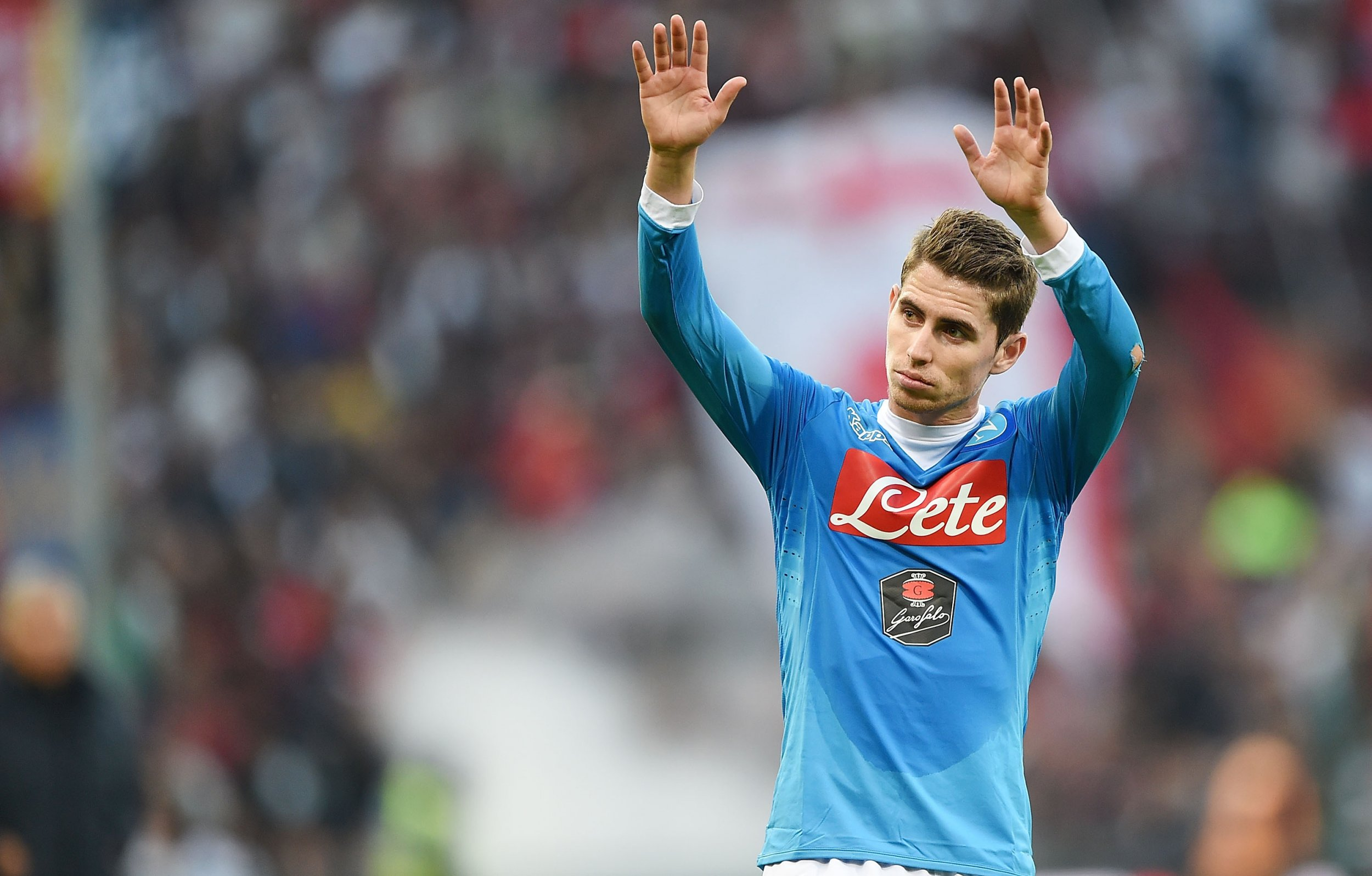 Jorginho of Napoli would be interested in a move to Arsenal.