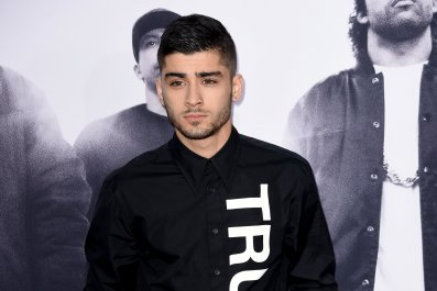 Zayn Malik at Straight Outta Compton premiere