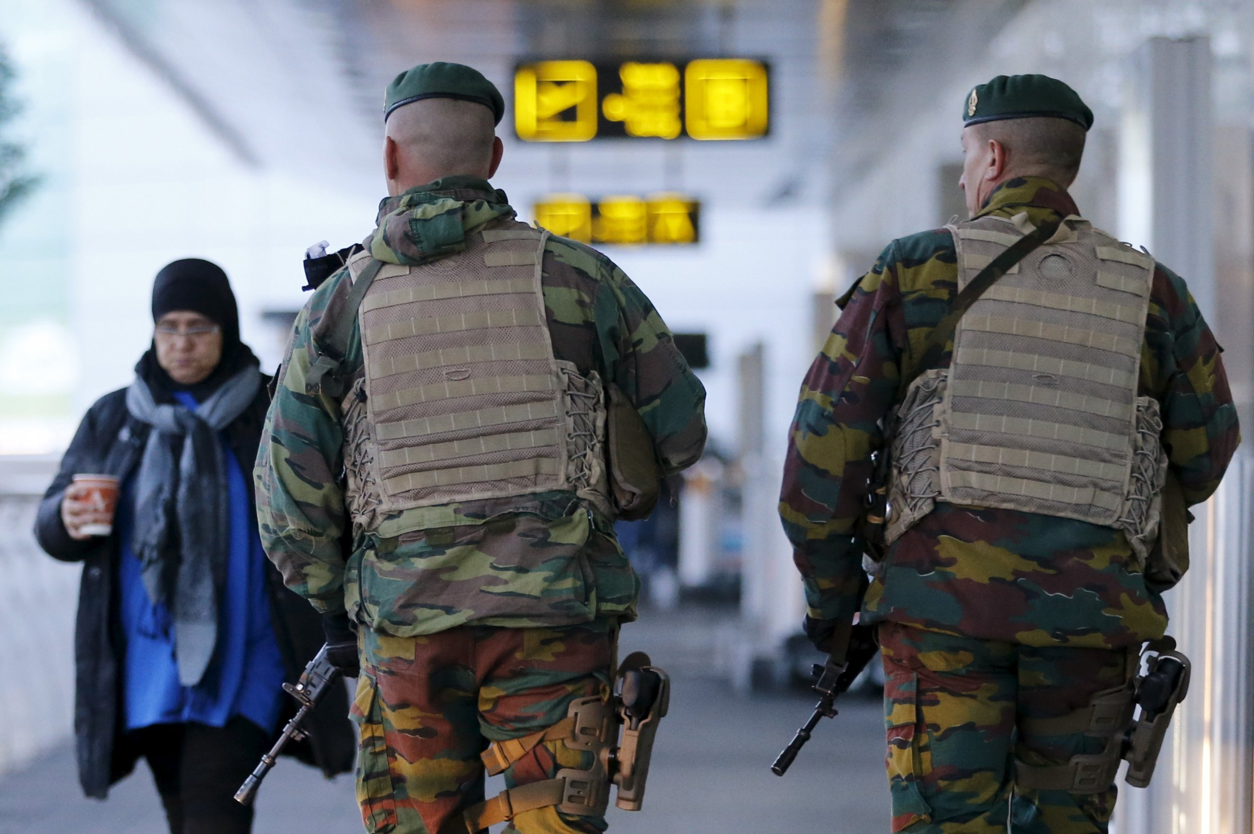 Brussels Explosions Airport Europe