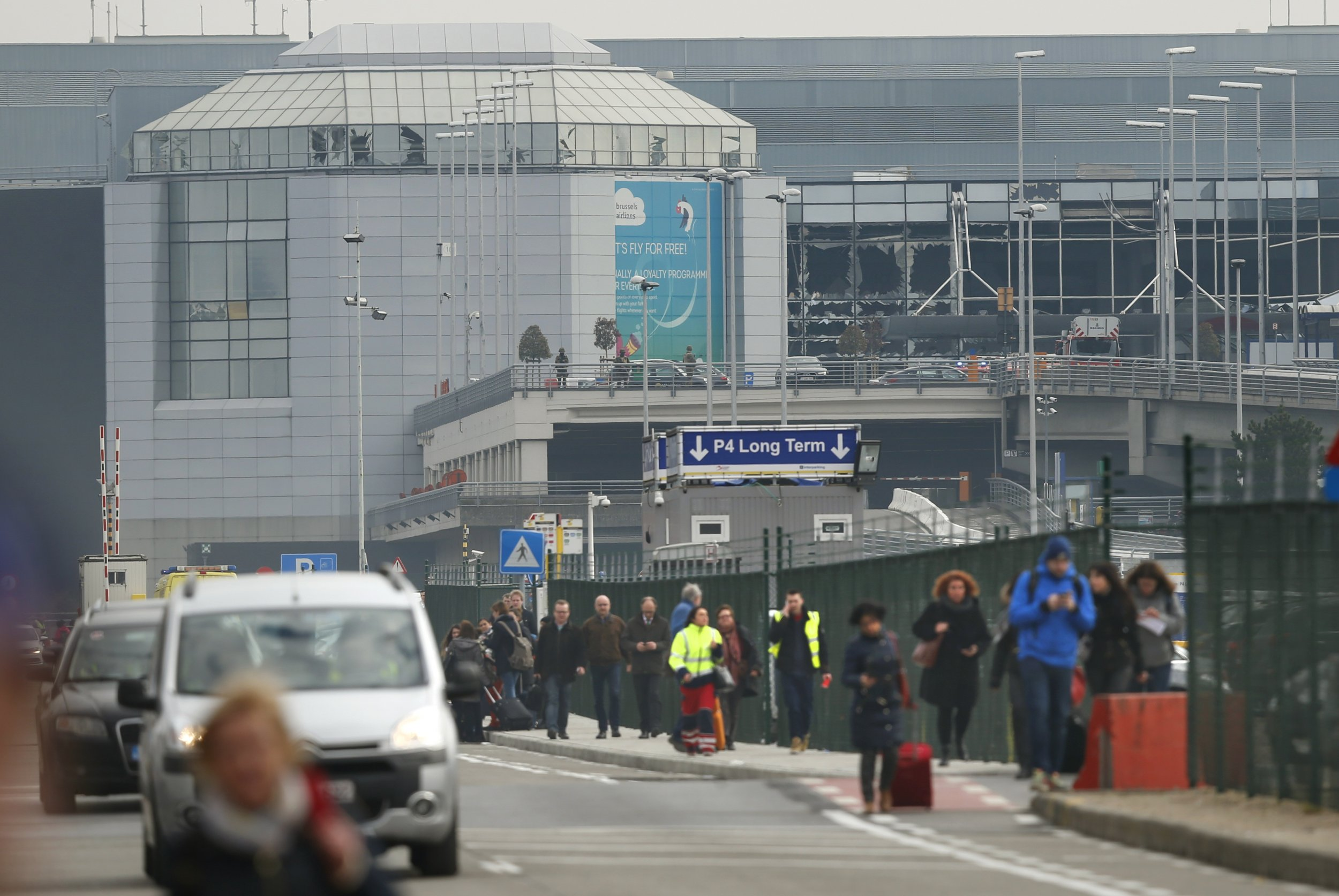 Brussels Airport Terror Threat Attacks