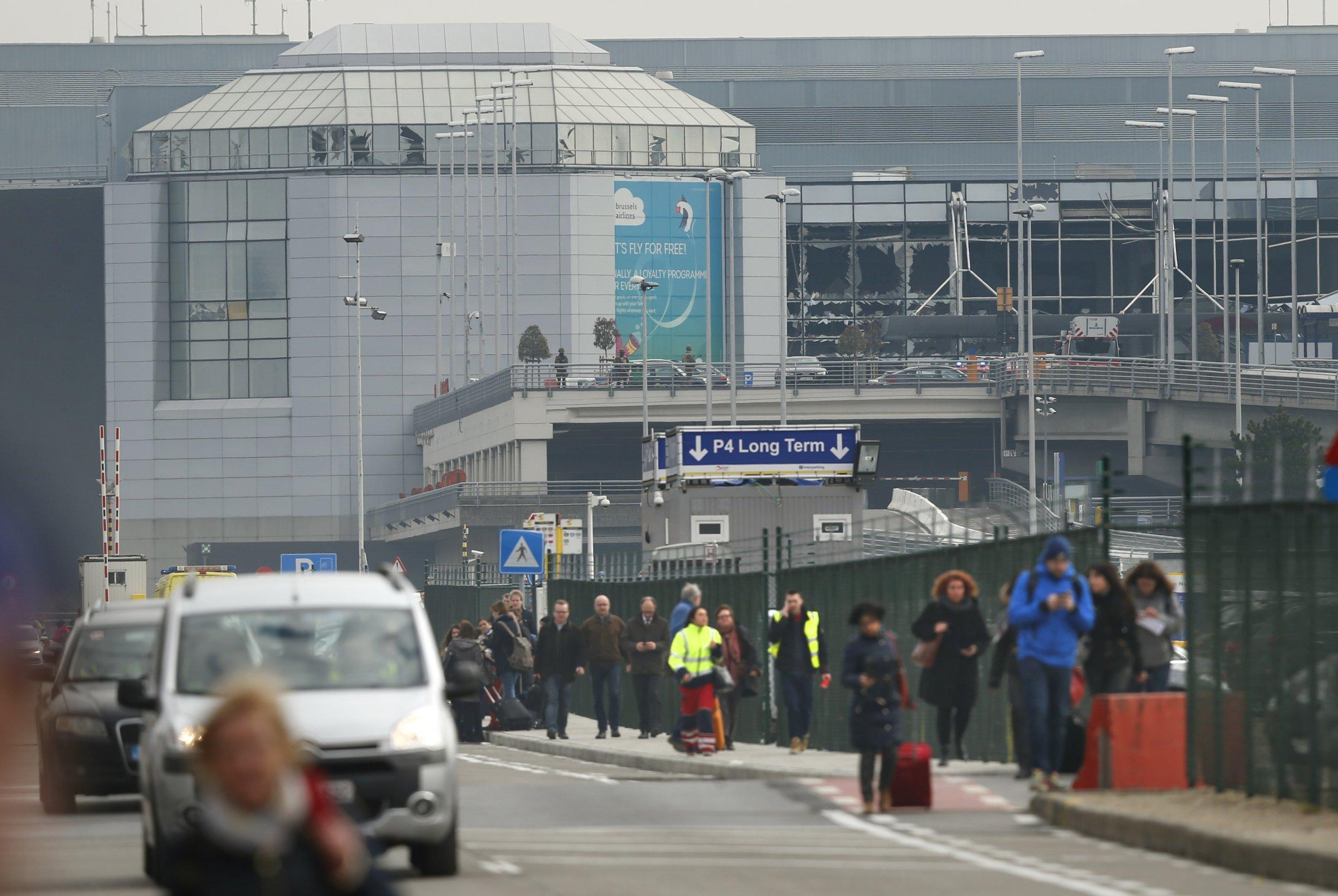 Brussels Airport Terror Threat Attacks