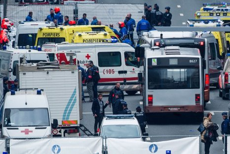 Several bomb blasts in Brussels are reported to have killed at least 26 people.
