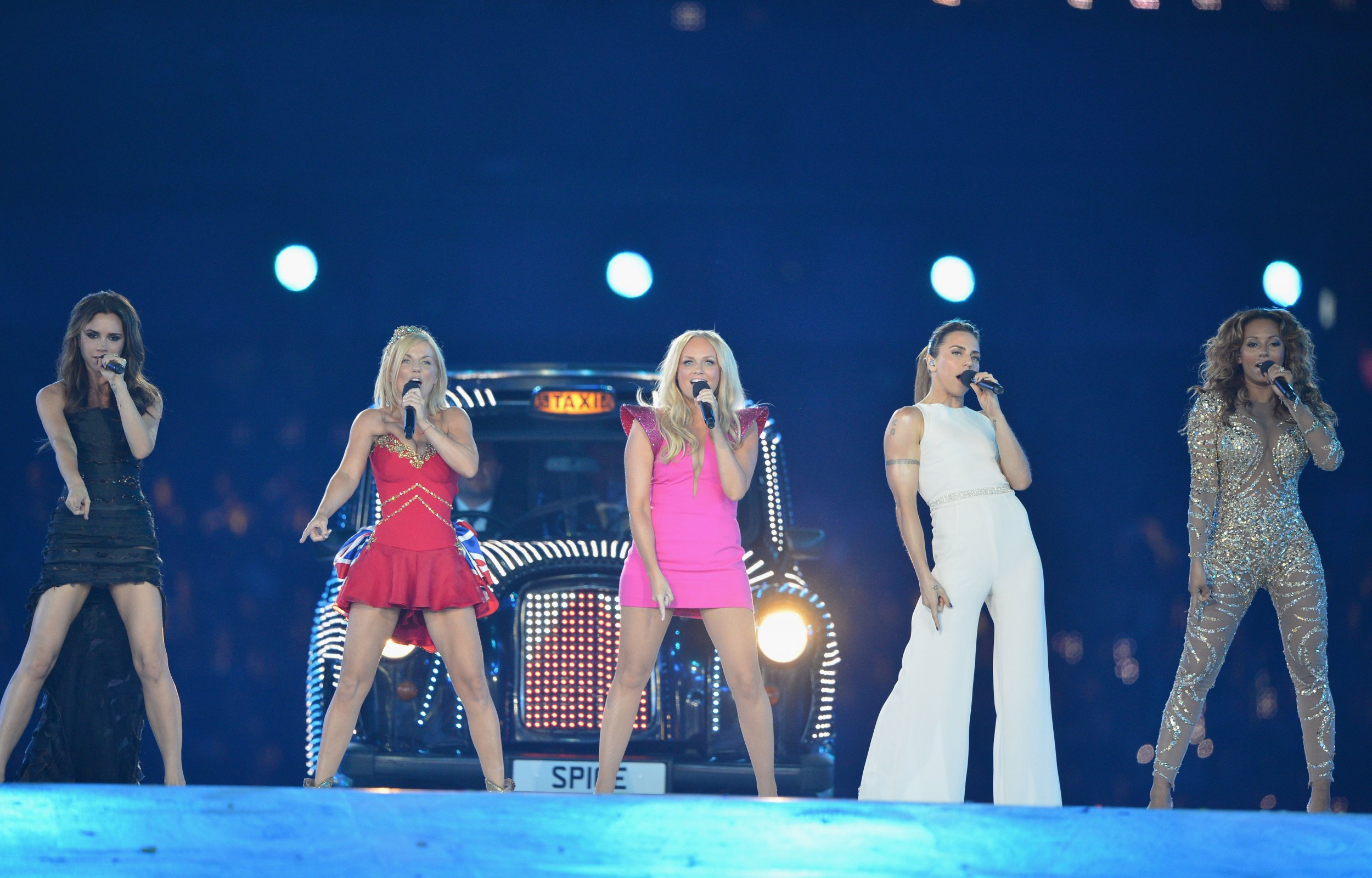 spice girls at the olympics in 2012