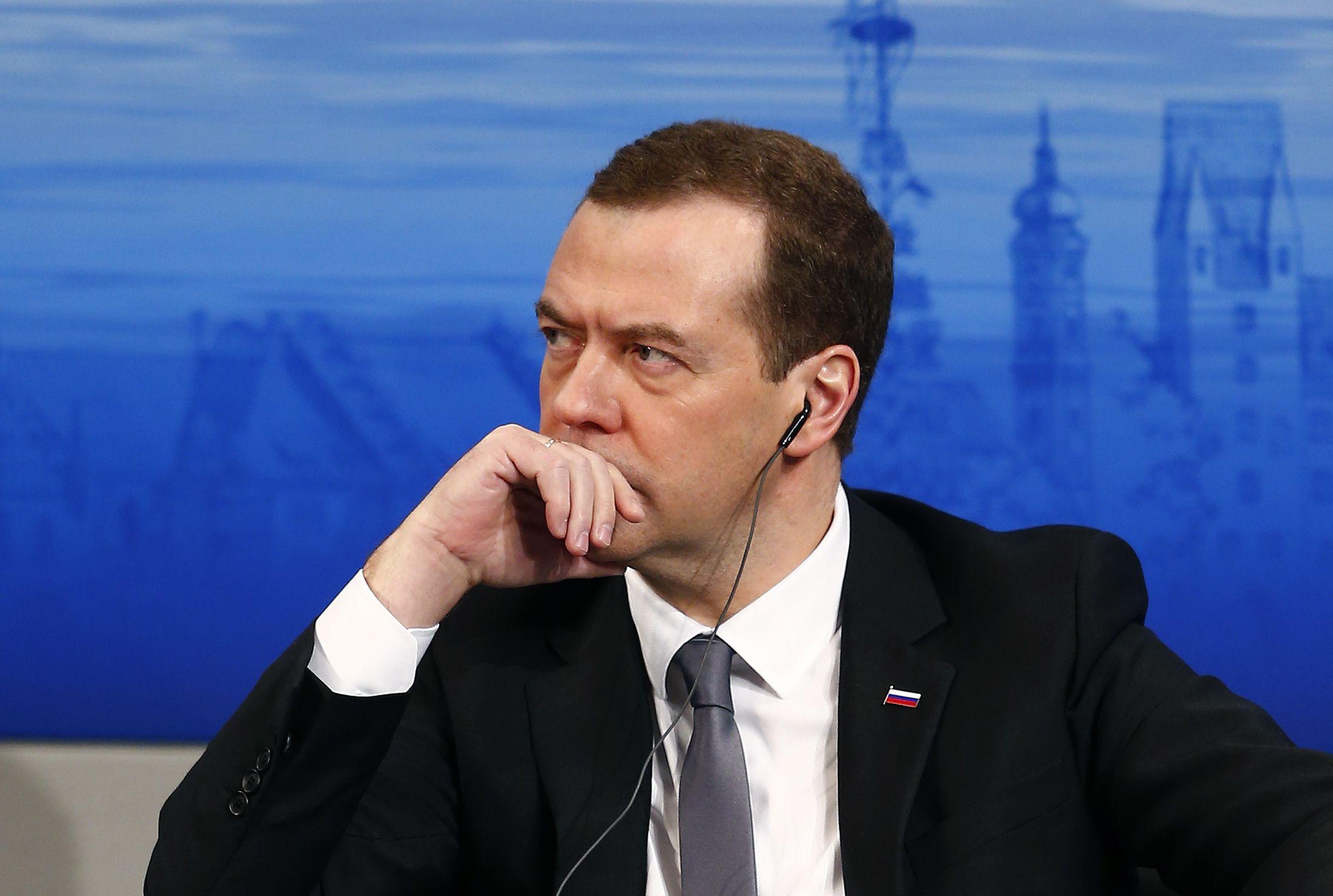 Medvedev angry