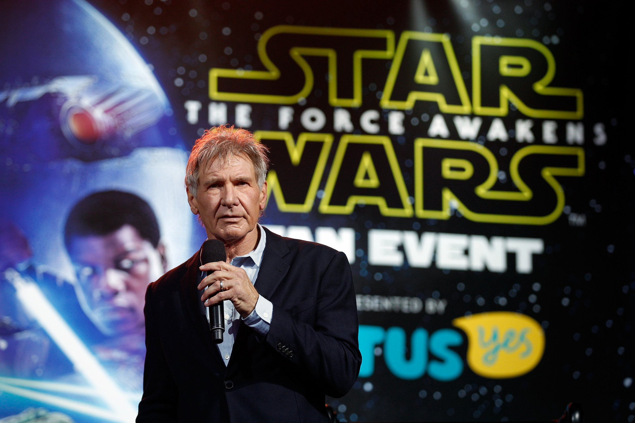 Harrison Ford at Star Wars event