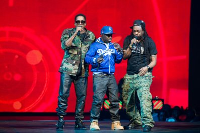 Phife Dawg in A Tribe Called Quest