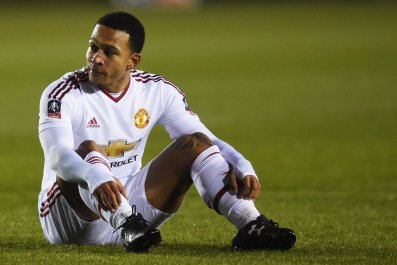Memphis Depay claims he feels let down by Manchester United.
