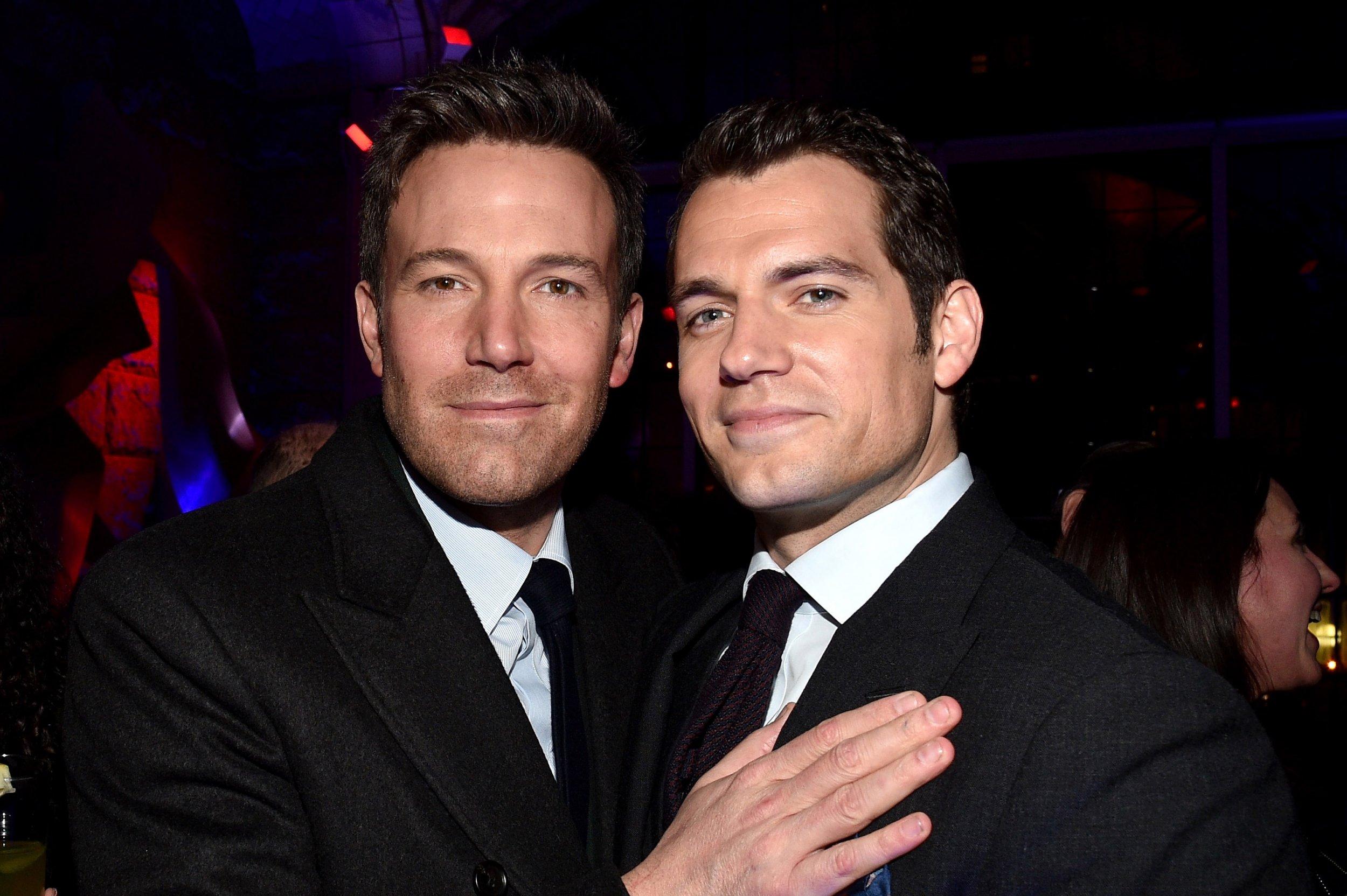 Batman v Superman stars Ben Affleck and Henry Cavill