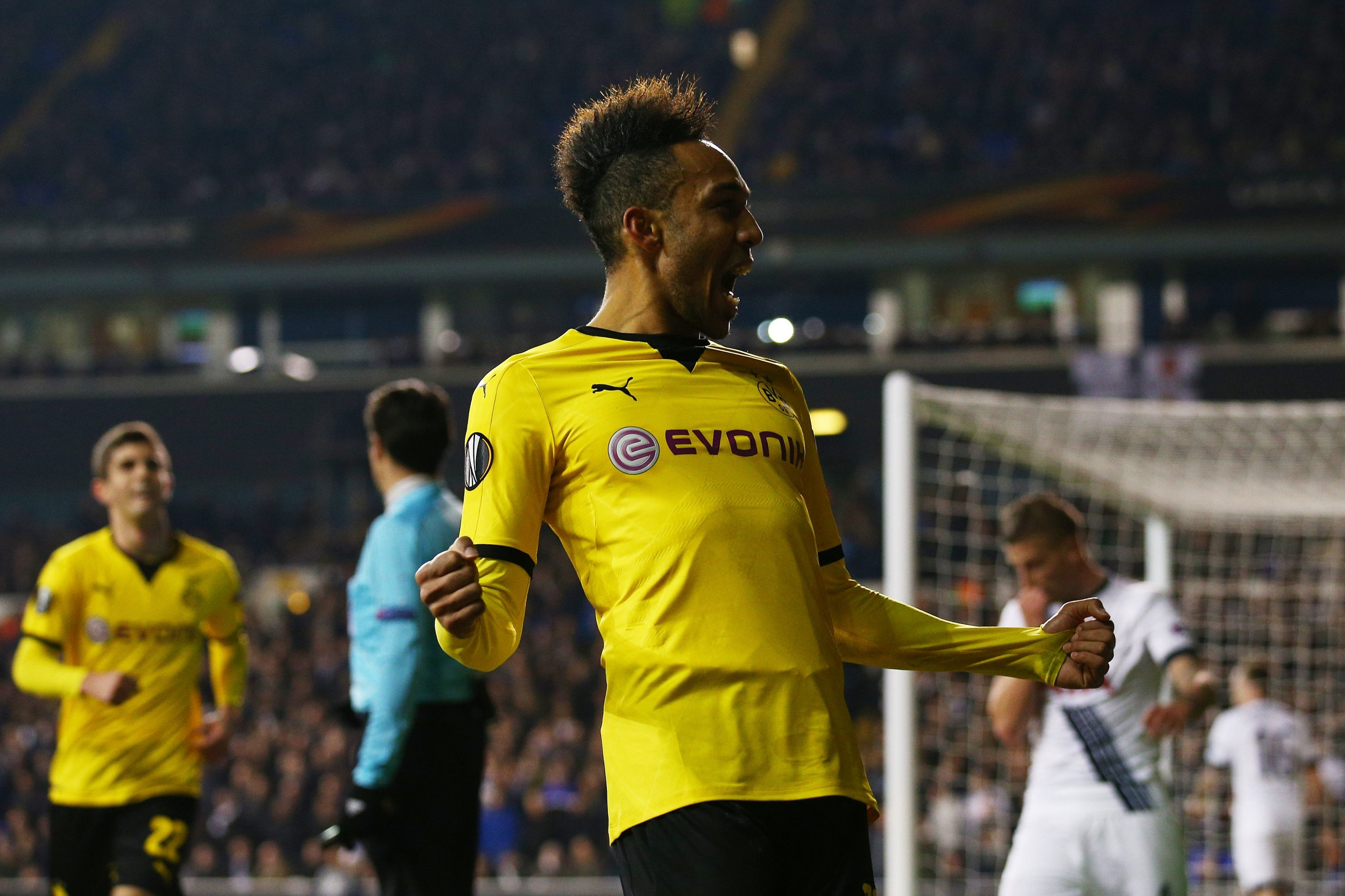Pierre-Emerick Aubameyang has attracted the interest of Manchester United and Real Madrid.