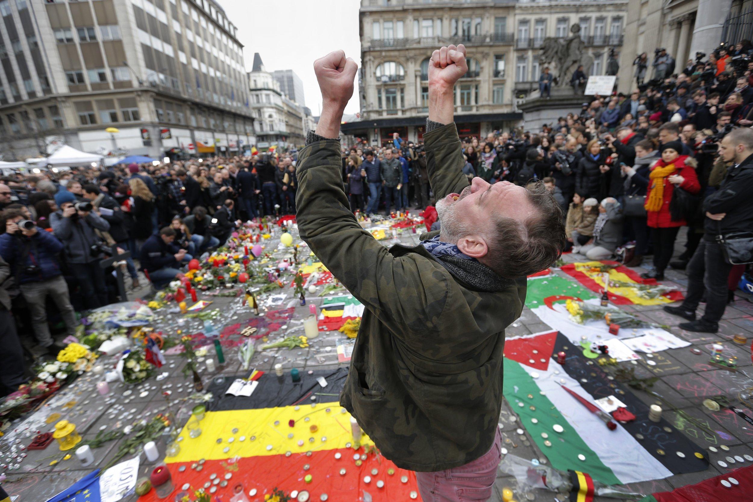Brussels Belgium Attacks Refugees EU