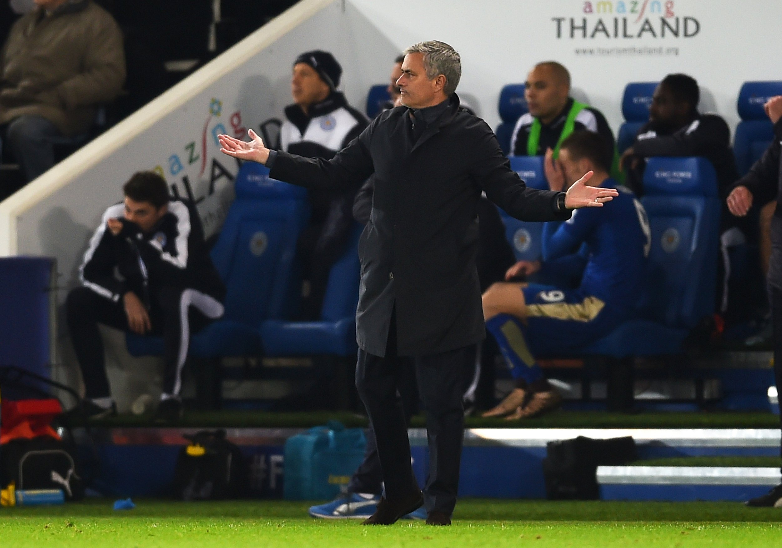 Jose Mourinho was dismissed as Chelsea manager in December.