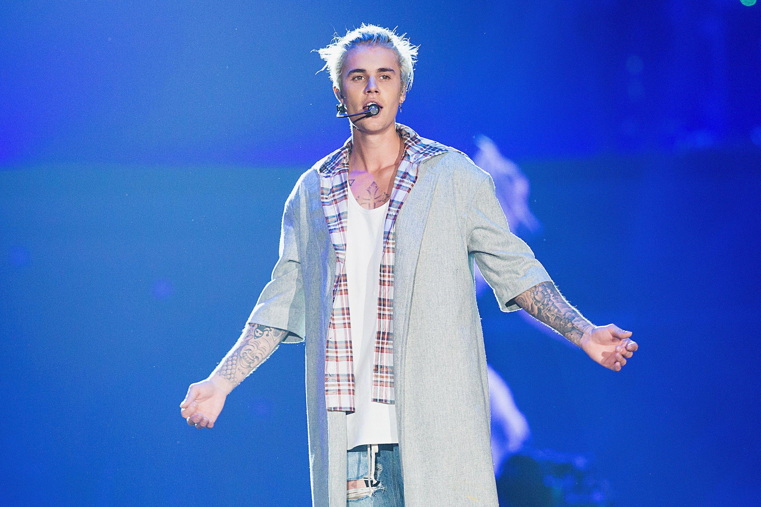 Justin Bieber on Purpose tour