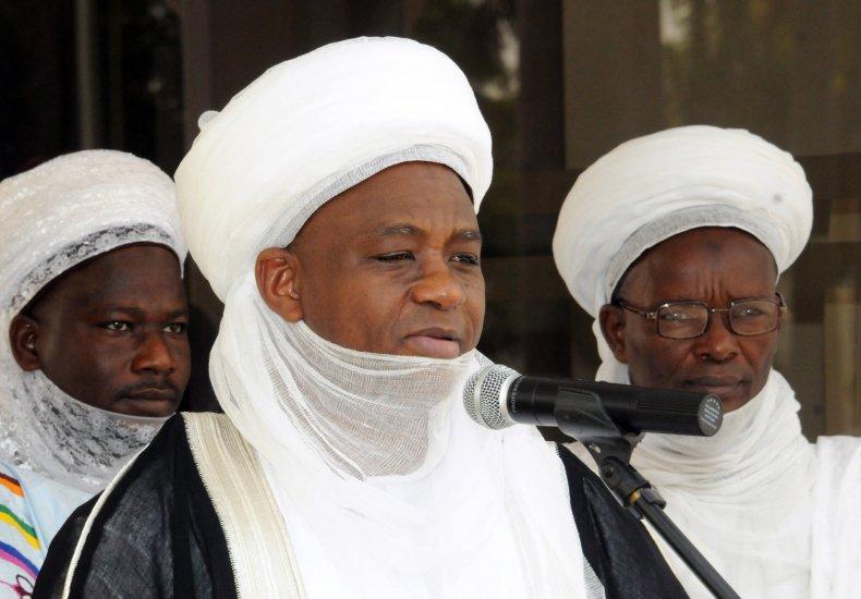 The Sultan of Sokoto speaks in Abuja.