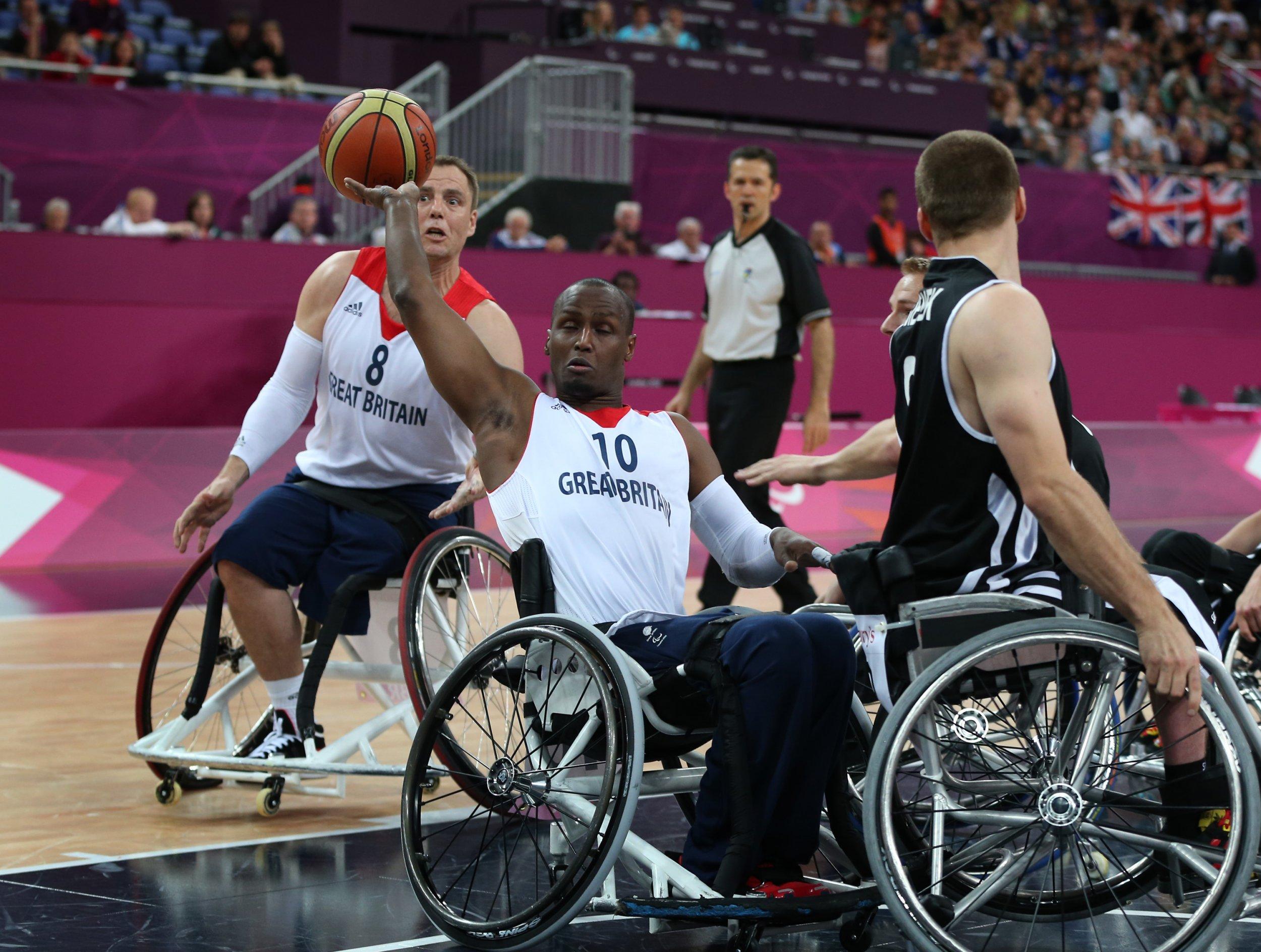 Abdi Jama at the London 2012 Paralympics