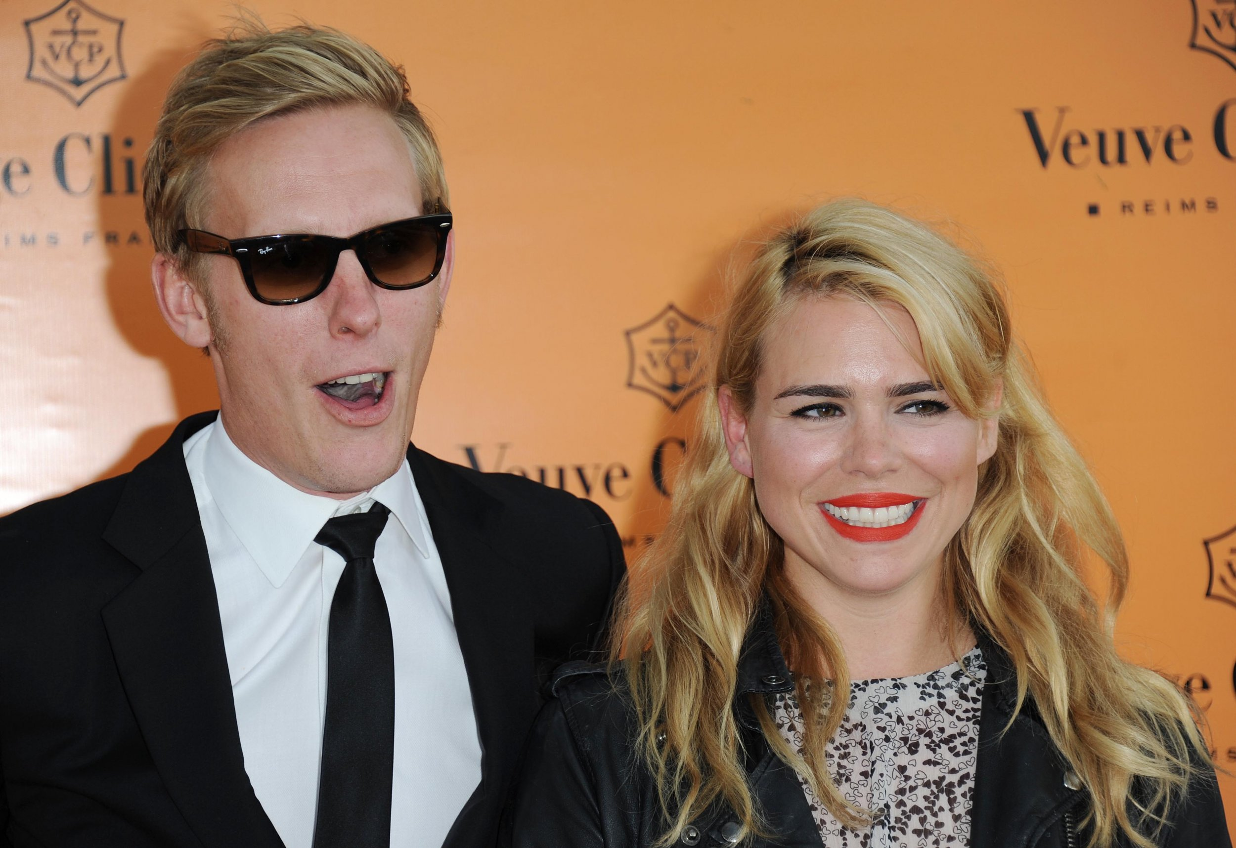 Billie Piper and Laurence Fox split