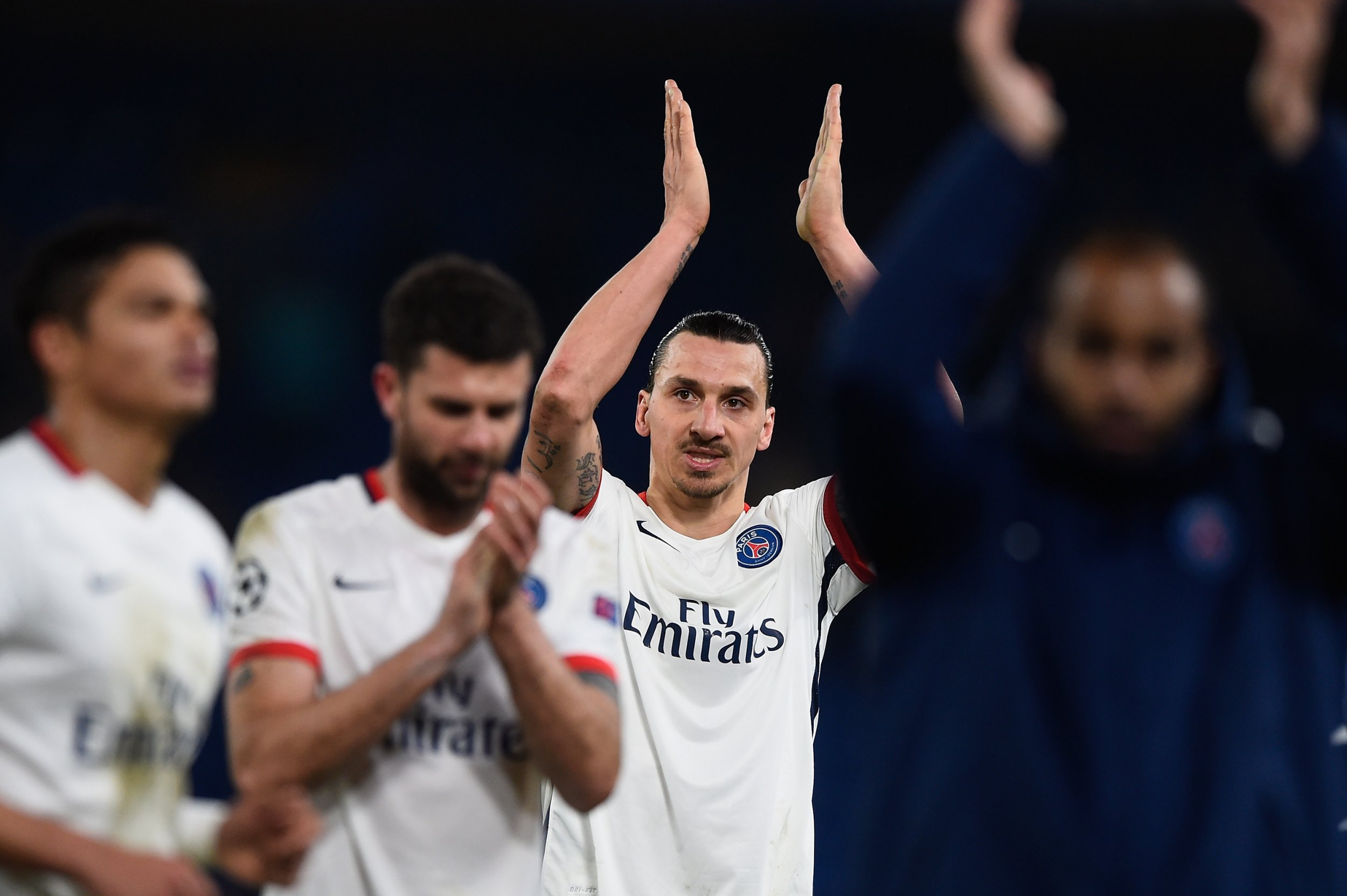 Zlatan Ibrahimovic is out of contract at Paris Saint-Germain at the end of the season.