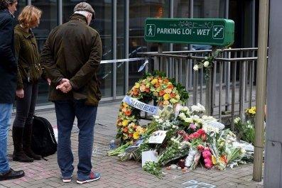 Brussels Attacks Social Media