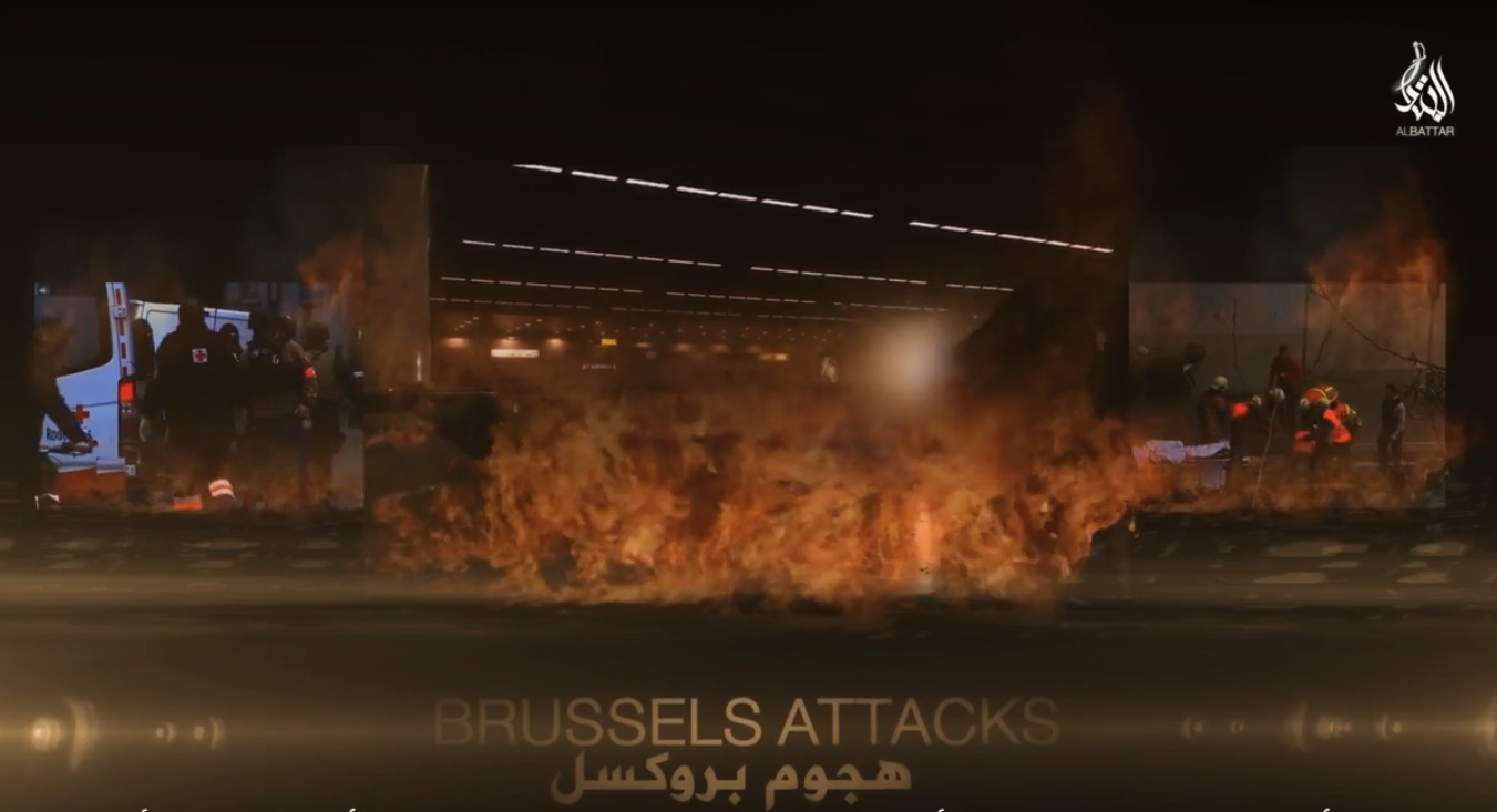 ISIS Brussels Belgium Attacks