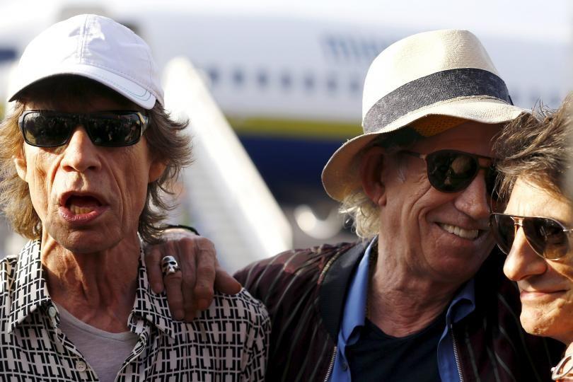 Rolling Stones Jagger-Richards-Wood