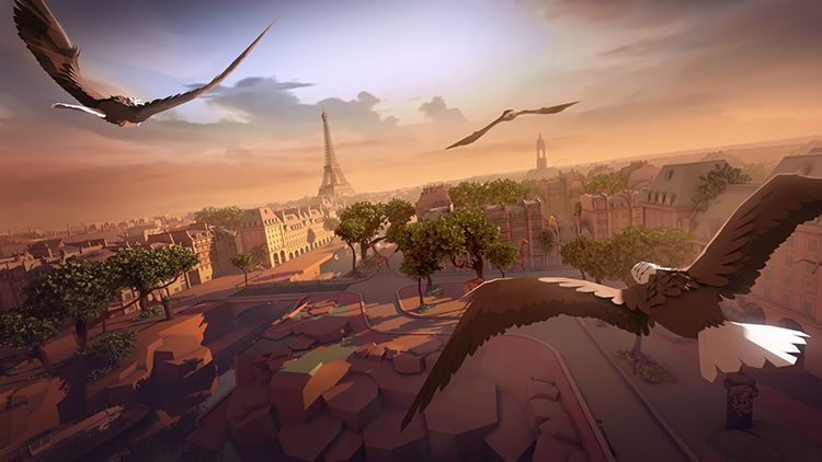 Eagle Flight for Oculus Rift