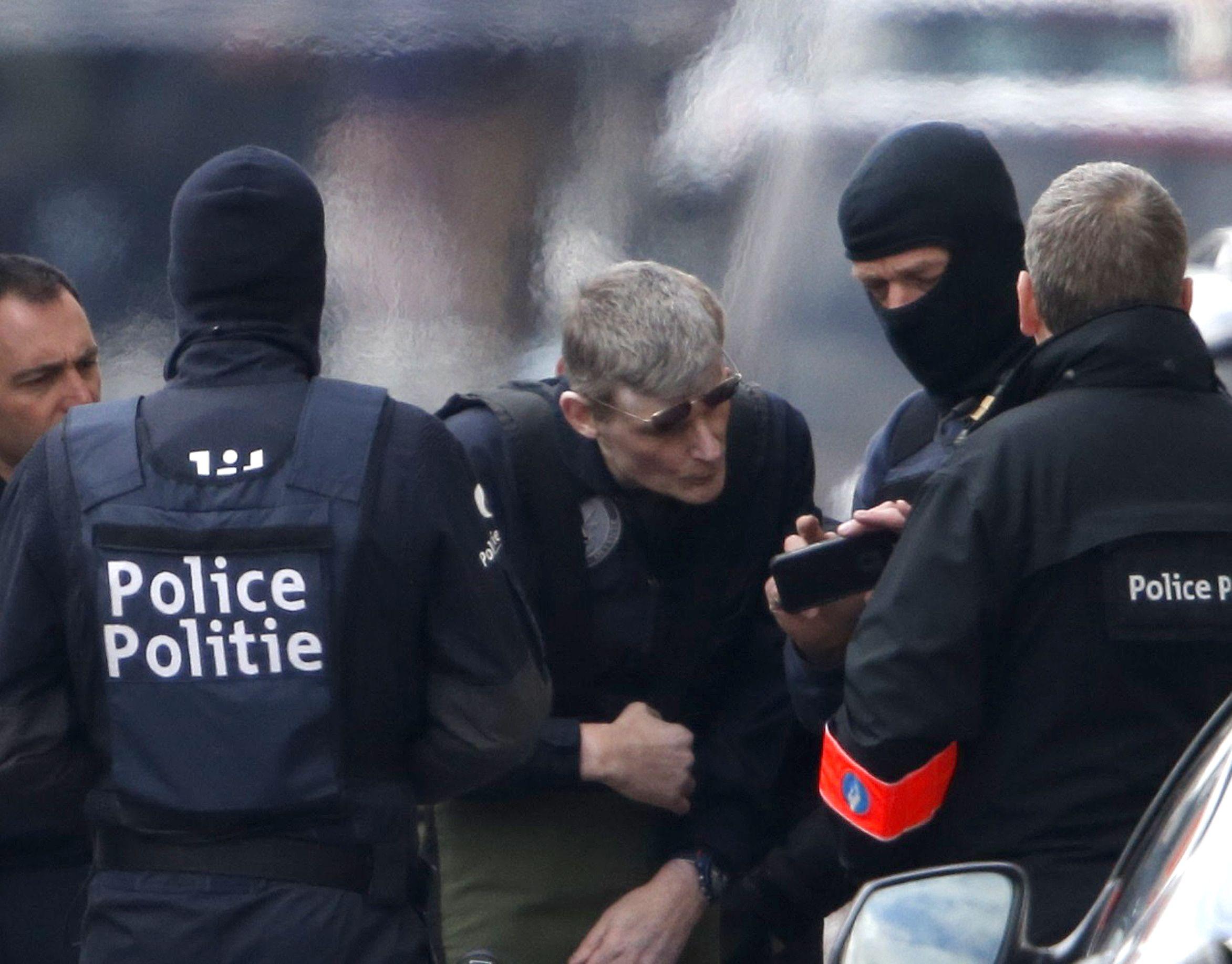 Brussels Arrests