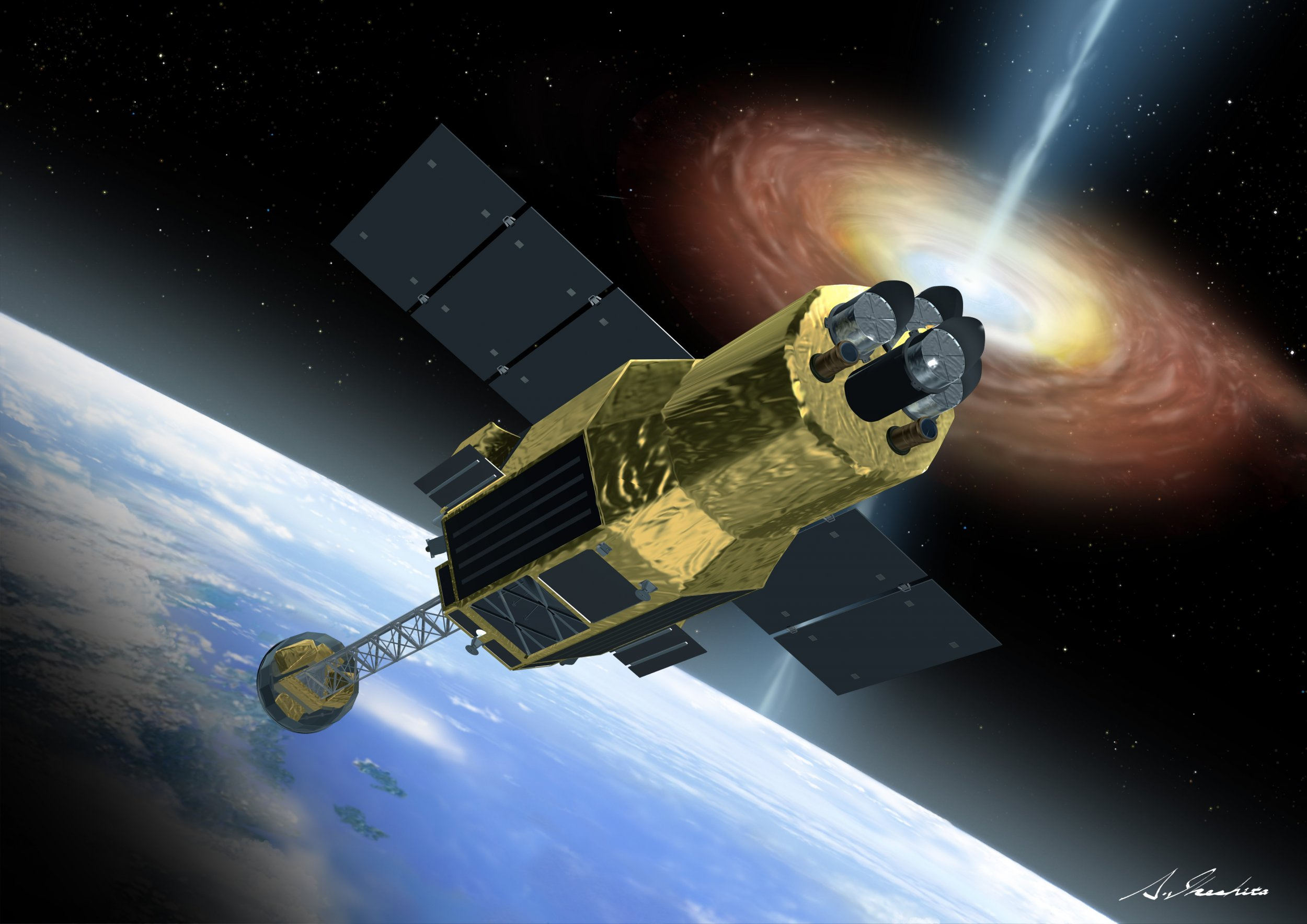 Japans Newest Satellite Goes Silent Sparking Fears It Disintegrated - Newest satellite images