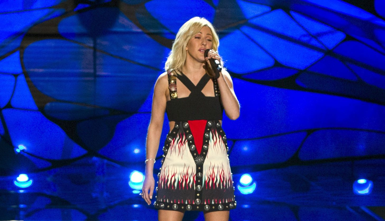 Ellie Goulding performs