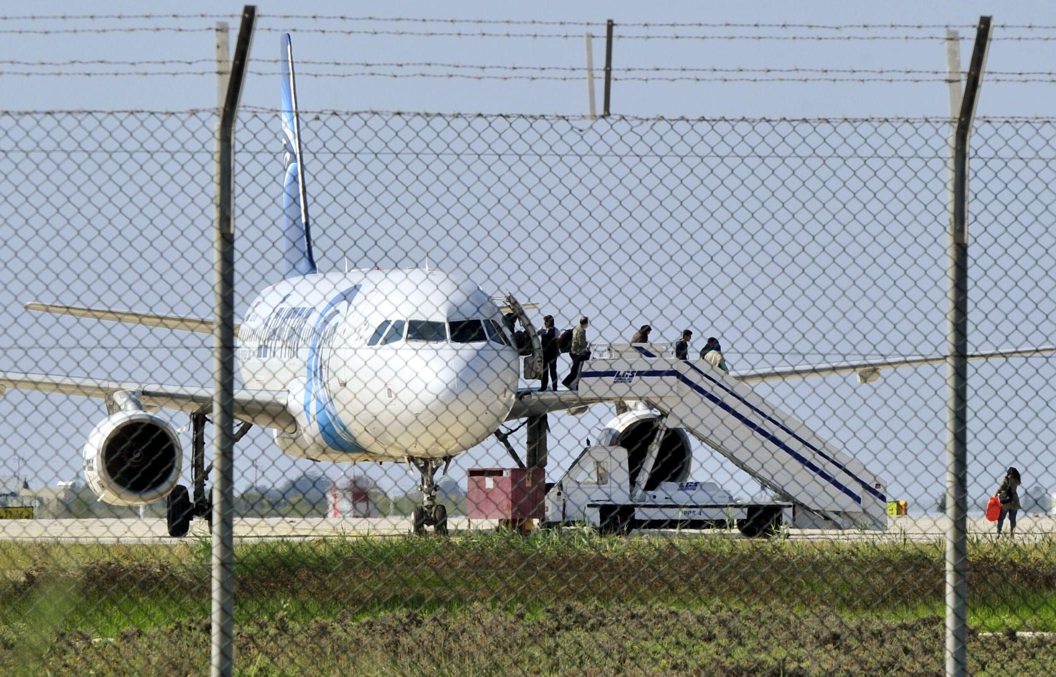 Cyprus Egypt Air Plane Hijacking