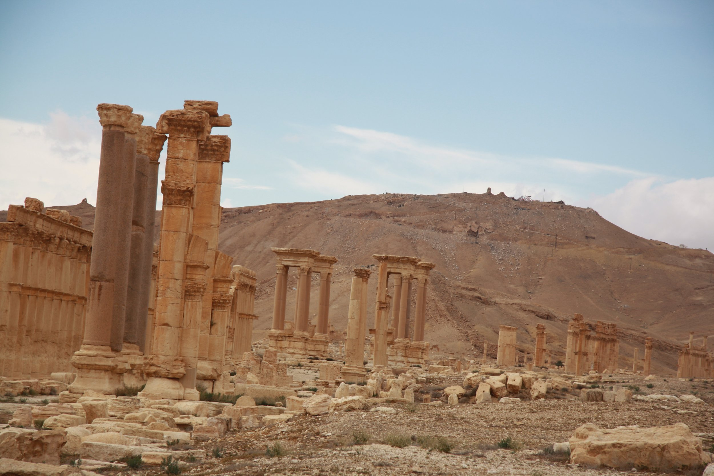 Palmyra ISIS Antiquities Middle East