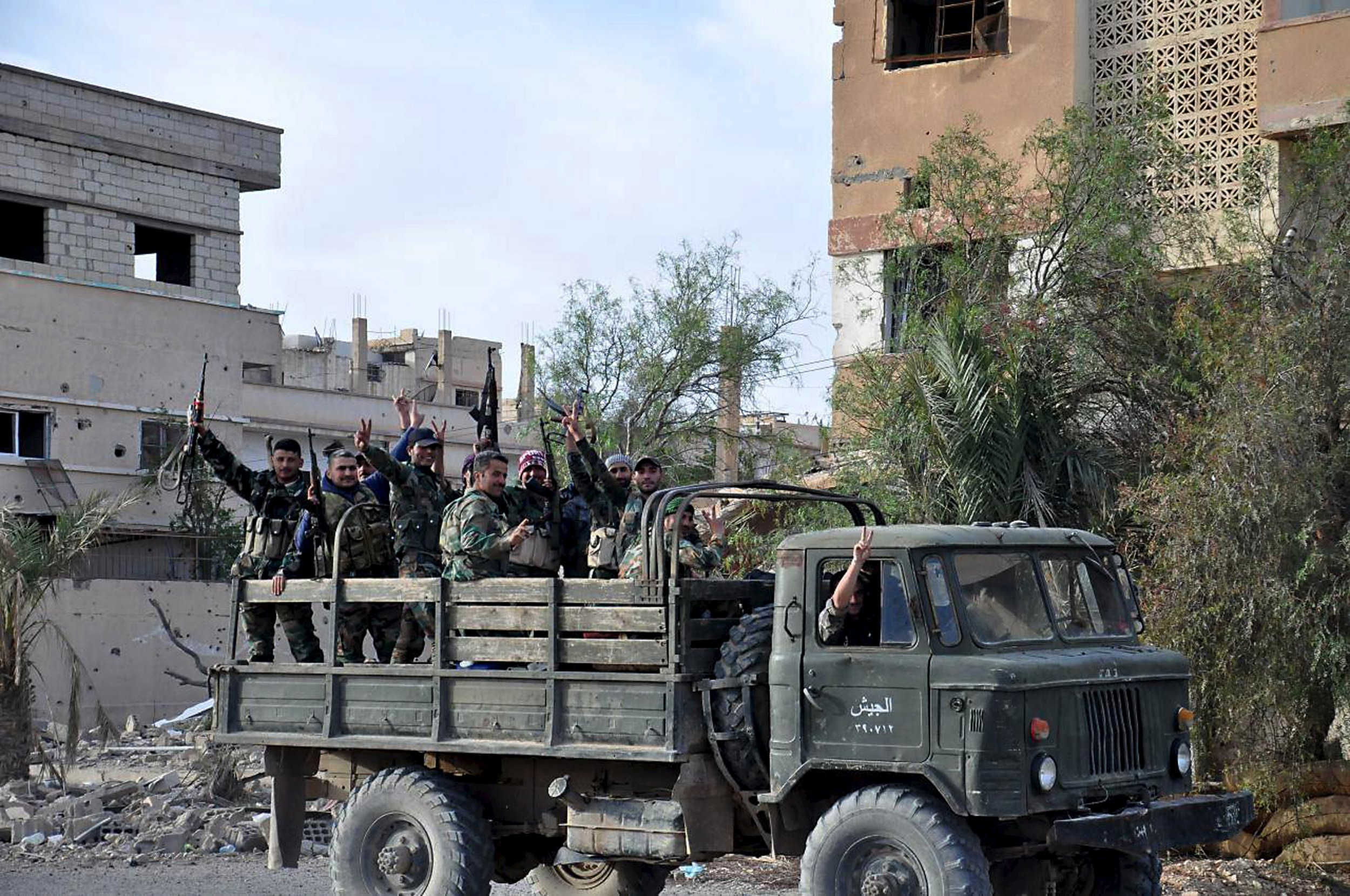 Palmyra liberated