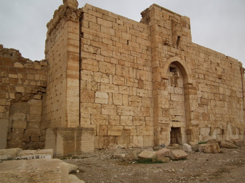 Syria Palmyra ISIS