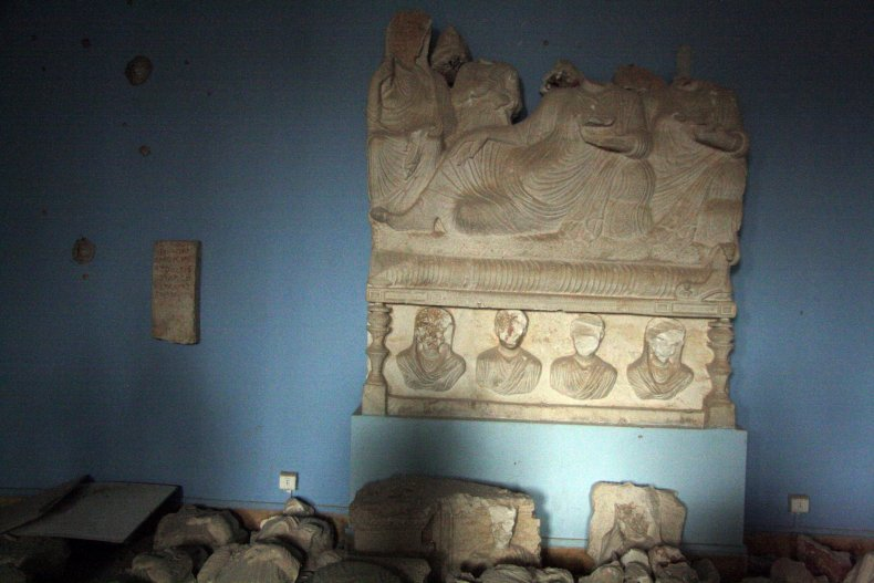 Palmyra ISIS Middle East Antiquities