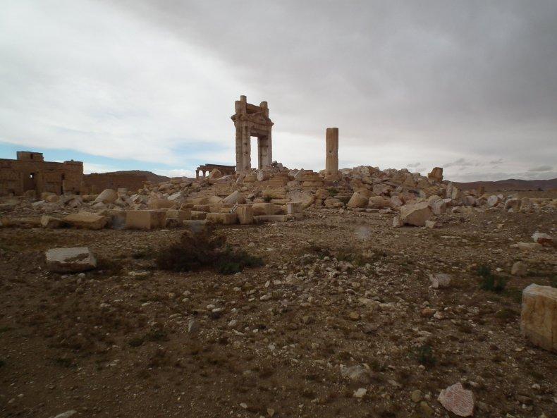 Temple Bel Palmyra Syria