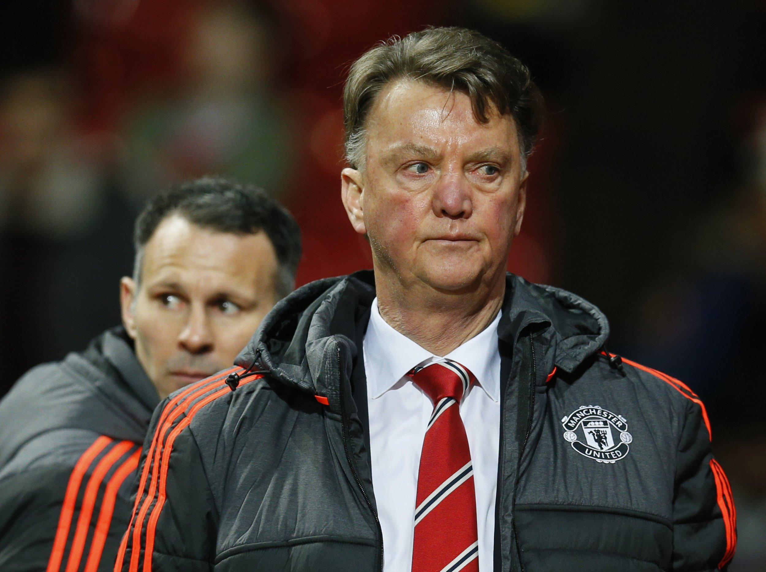Ryan Giggs, left, has espoused Manchester United's youth policy.