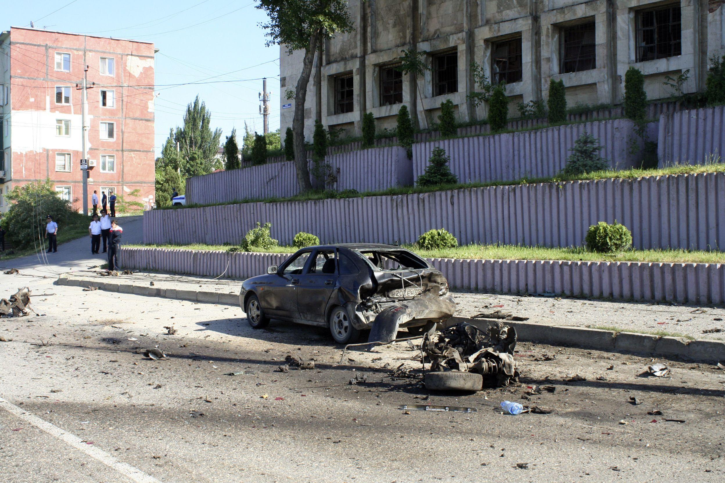 Dagestan car bomb