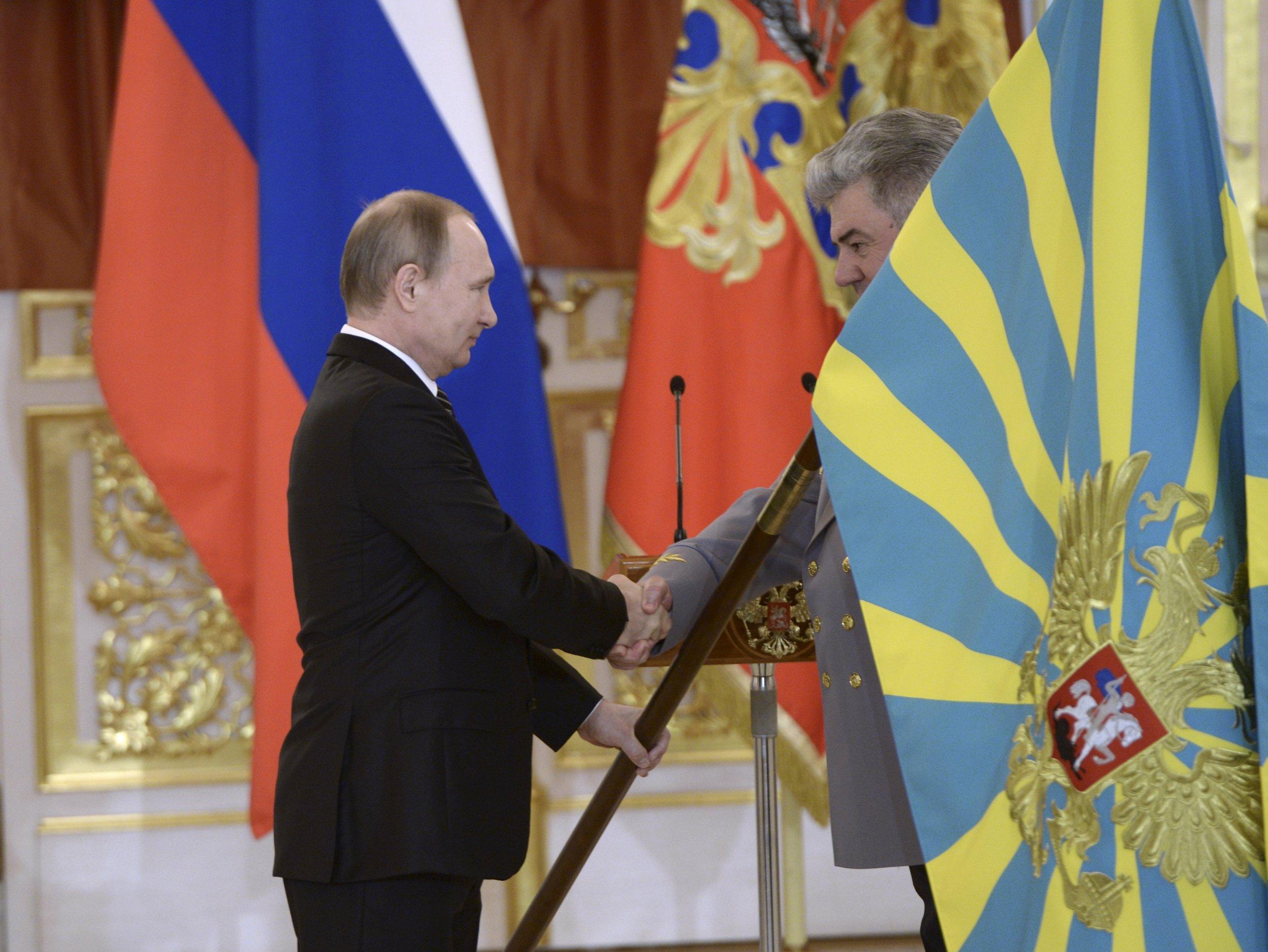Putin Syria medals